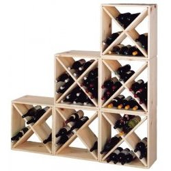 wine rack woodworking design